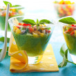 Green Gazpacho — Stockfoto
