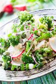 Salada de brócolis — Foto Stock