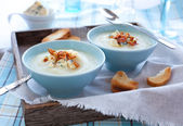 Cauliflower Soup — Stock Photo