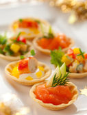 Holiday Appetizers — Stock Photo