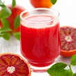 Blood orange juice — Stock Photo