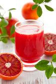 Blood orange juice — Stock Photo