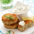 Cod Fish Cakes — Stock Photo #8404812