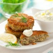 Cod Fish Cakes — Stock Photo #8404844