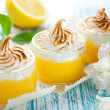 Lemon Meringue Dessert — Stock Photo #8405420