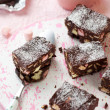 Rocky road cake - Stock Photo