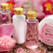 Body care products or spa still life — Stock Photo #8518996