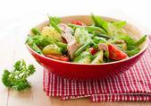 Potato and tuna salad — Stock Photo