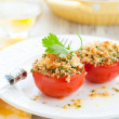 Tomatoes provencal style - Stock Photo