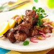Lamb kebabs — Stock Photo #8905549
