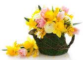 Wielkanoc bukiet — Zdjęcie stockowe