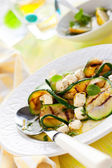 Salada de abobrinha — Fotografia Stock