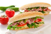 Sandwiches — Stock Photo