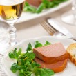 Chicken liver pate - Stockfoto