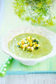 Zucchini soup — Stock Photo
