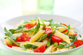 Pasta with vegetables — Stock Photo