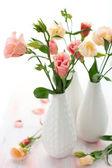 Roze lisianthus — Stockfoto