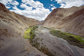 Indian Himalayan landscape in Marhka Valley, North India — Stock Photo