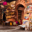 Old medina art street shop, Marrakesh, Morocco — Stock Photo #8159616