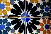 Detail tradiční islámské mozaika — Stock fotografie