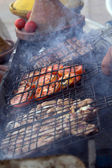 Marocco typical grill food — Stock Photo