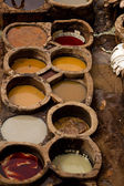 Morocco Fez Tannery — Foto Stock