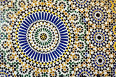 Detail of Traditional Islamic Mosaic — Stock Photo