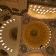 Постер, плакат: Inside of Istanbul Blue Mosque I vertical position