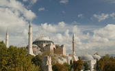 Hagia Sofia in Istanbul - view from top — Stock Photo