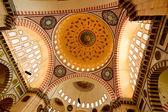 Im inneren der moschee - istanbul — Stockfoto