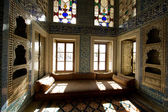 Turkey Sultan room details inside Topkapi Palace, Istanbul — Stock Photo