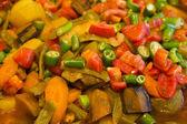 Turkish traditional food - vegetables — Stock Photo