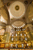 Amazing interior arch detail inside Istanbul Mosque — Stock Photo