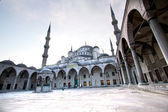 Blue Mosque exterior view — Stock Photo