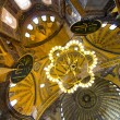 Interior  of Hagia Sophia Mosque, Istanbul — Stock Photo