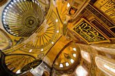 Wewnątrz świątyni hagia sophia meczet w stambule — Zdjęcie stockowe