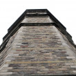 Stock Photo: Grey brick tower