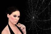 Femme-araignée — Photo