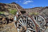 Ramshackle wagon — Stock Photo