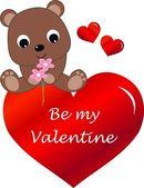 Be my valentine — Wektor stockowy