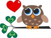 Valentines day or birthday — Stock Vector