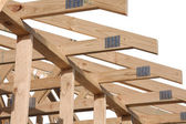 Australian Roof construction detail — Stock Photo