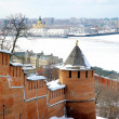 April in Nizhny Novgorod Kremlin Russia — Stock Photo #10195744