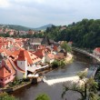 Scenic view of Czech Krumlov — Stock Photo #10395120