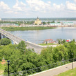 Summer Nizhny Novgorod Russia in june — Stock Photo