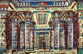 Papyrus égyptien antique — Photo