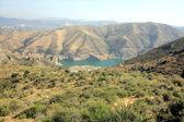 Mountain lake in park Sierra Nevada in Spain — Stock Photo