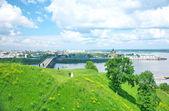 Summer in Nizhny Novgorod, Russia — Stock Photo