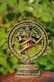Shiva - God of the destroyer of bad habits — Stock Photo