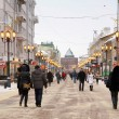 Pokrovk- main street of Nizhny Novgorod Russia — Stock Photo #8692268